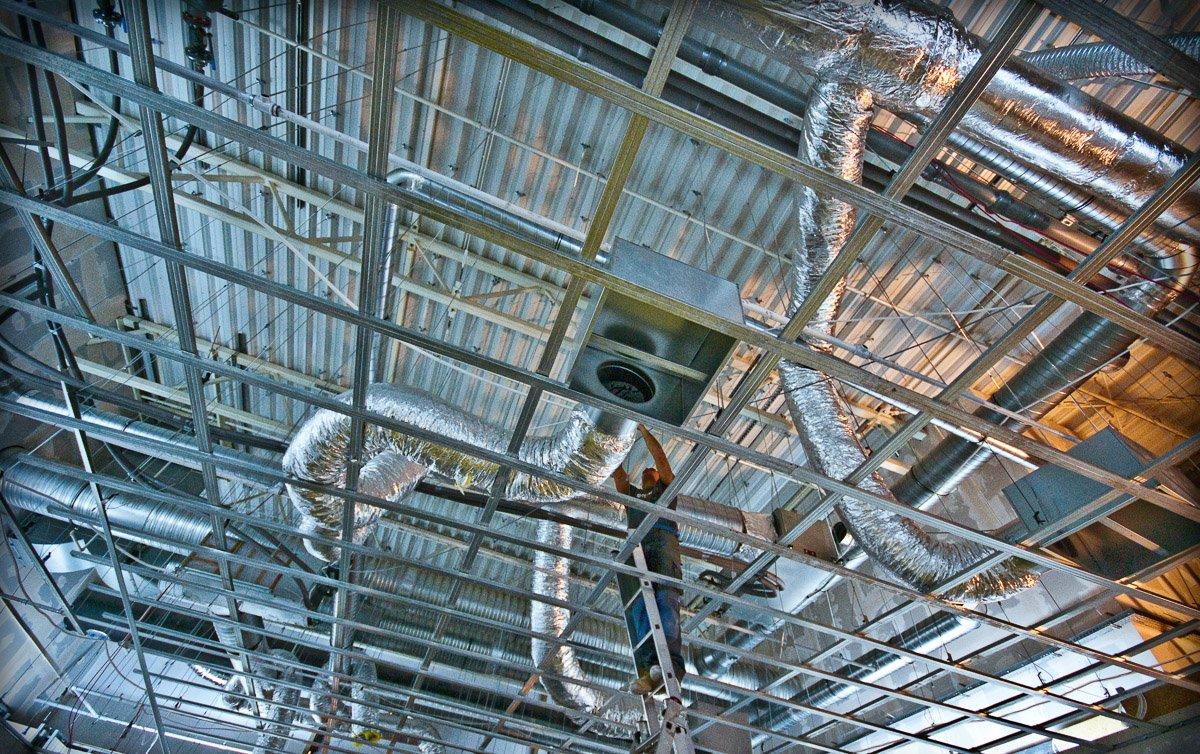 Sterowanie i kontrola instalacji nawiewu i klimatyzacji